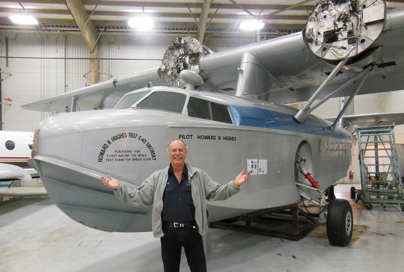 Tow Truck Houston >> How I acquired the Howard Hughes Sikorsky S-43! | Fantasy ...